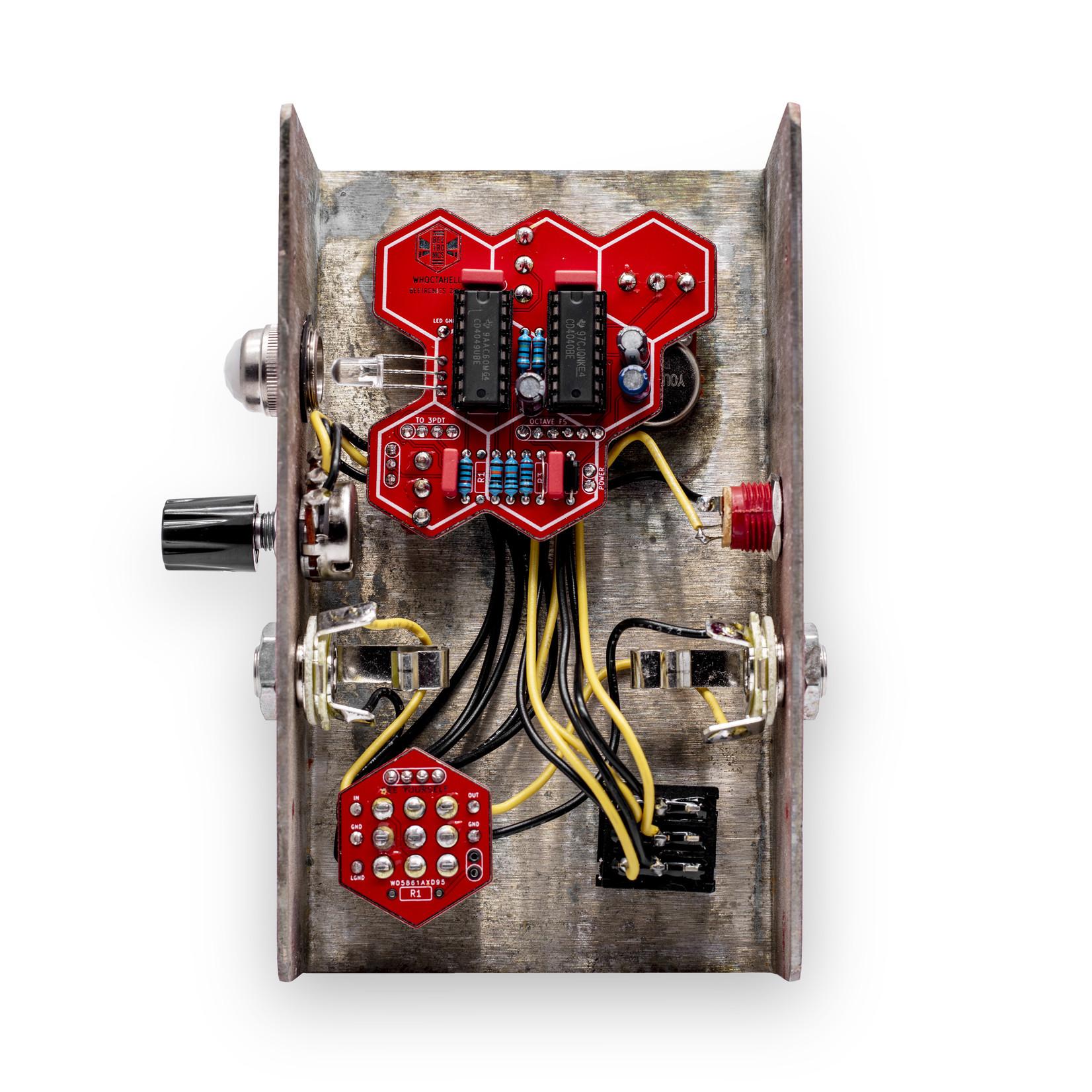 Beetronics Beetronics Whoctahell Low Octave Fuzz, overdrive / fuzz with optional octaver