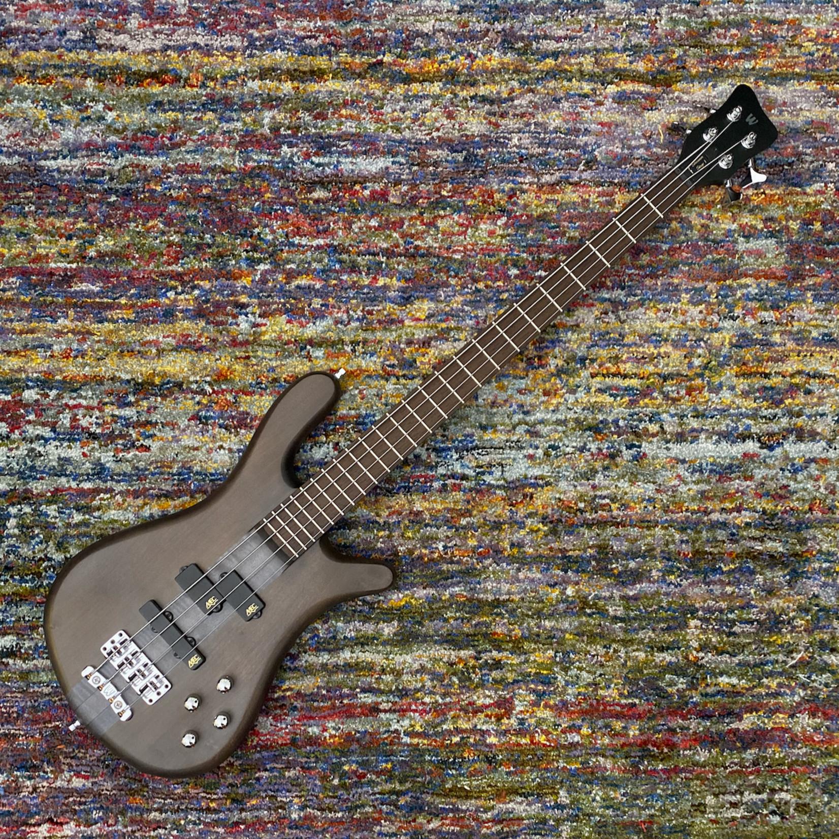 Warwick Warwick Team Built Streamer Stage I, 4-String Bass - Nirvana Black Transparent Satin