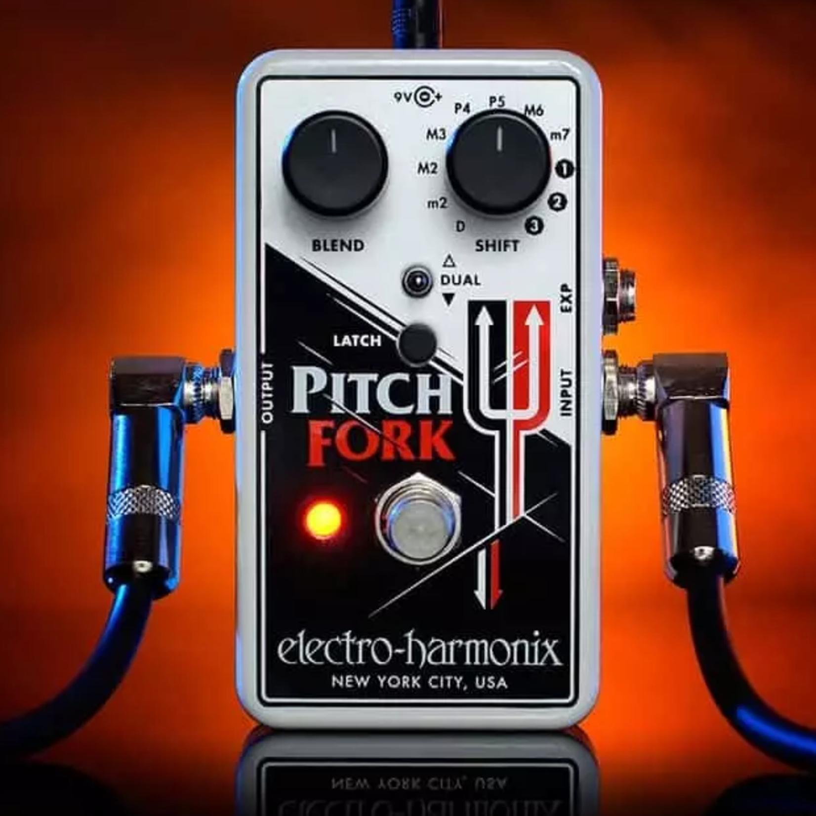 Electro-Harmonix Electro-Harmonix Pitch Fork Polyphonic Pitch Shifter/Harmony Pedal
