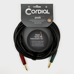 Cordial Cables CRI 3 PP-SILENT, 10-foot premium inst. cable with SilentPLUG
