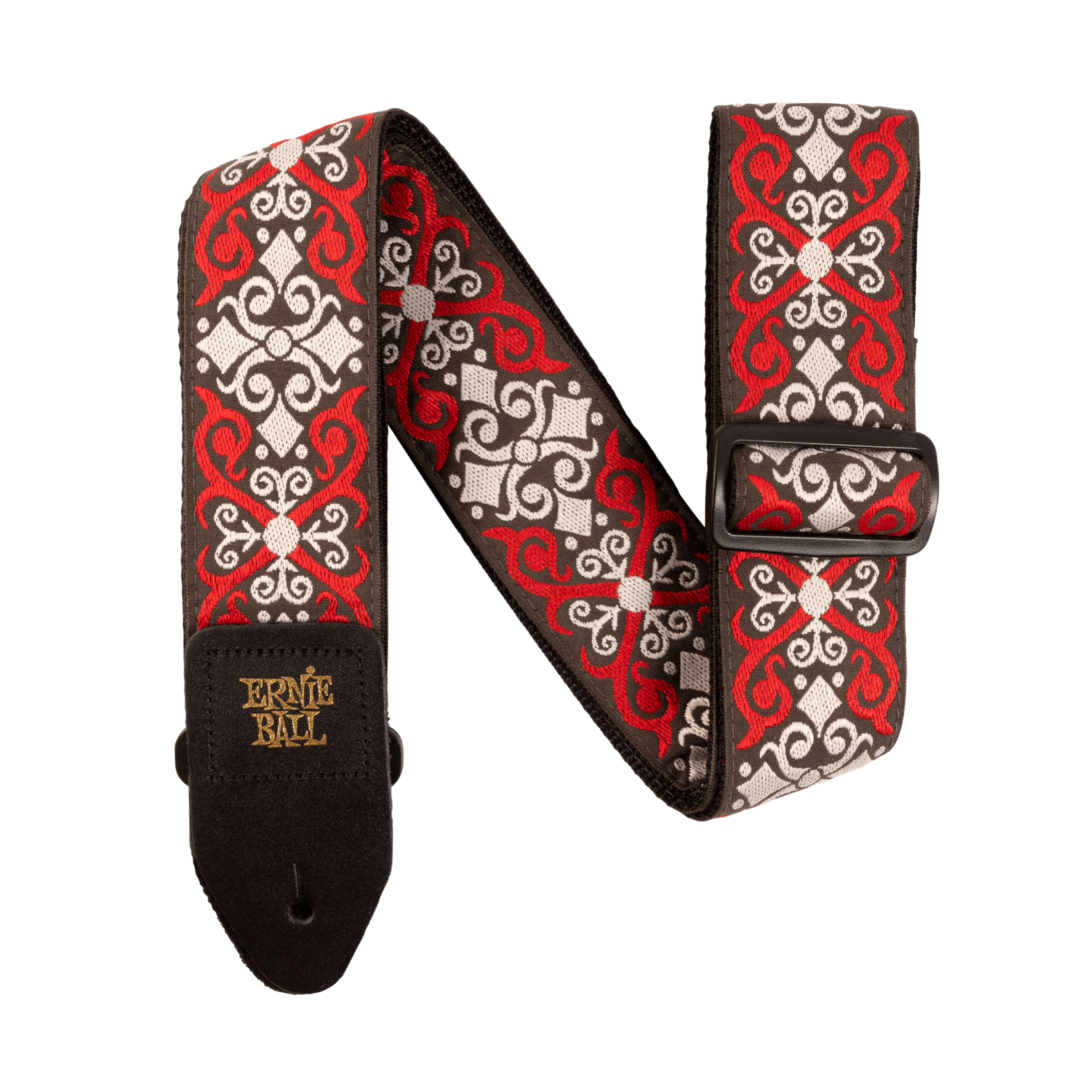 Ernie Ball Ernie Ball Red Trellis Jacquard Guitar Strap