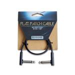 Rockboard RockBoard Black Flat Patch Cable 11.81 in / 30 cm (RBO CAB PC F 30 BLK)