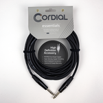 Cordial Cables Cordial Cables Balanced Mic/Line - 1/4-inch TRS to 1/4-inch TRS - 10-foot cable, Essential Series