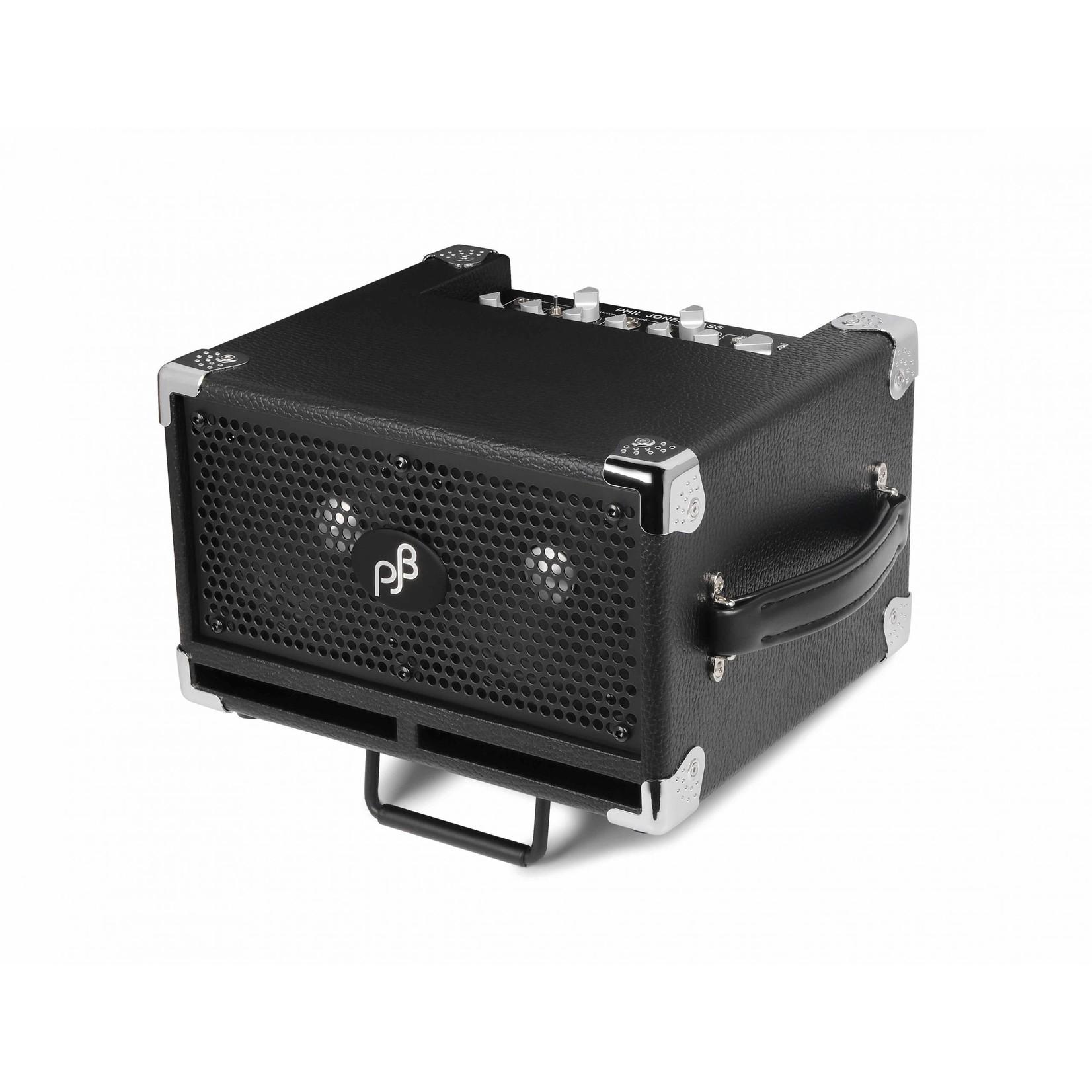 "Phil Jones Phil Jones Bass Cub Pro 120W Micro Combo Amp 2x5"" (BG-120B), Black Cabinet"