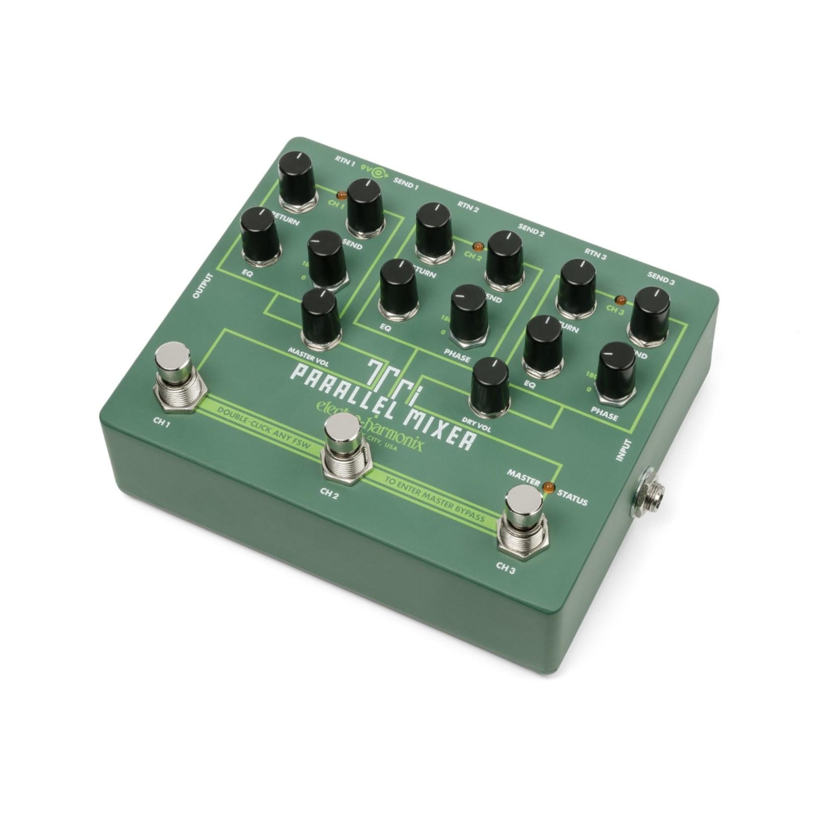 Electro-Harmonix Electro-Harmonix Tri Parallel Mixer, Effects Loop Mixer / Switcher