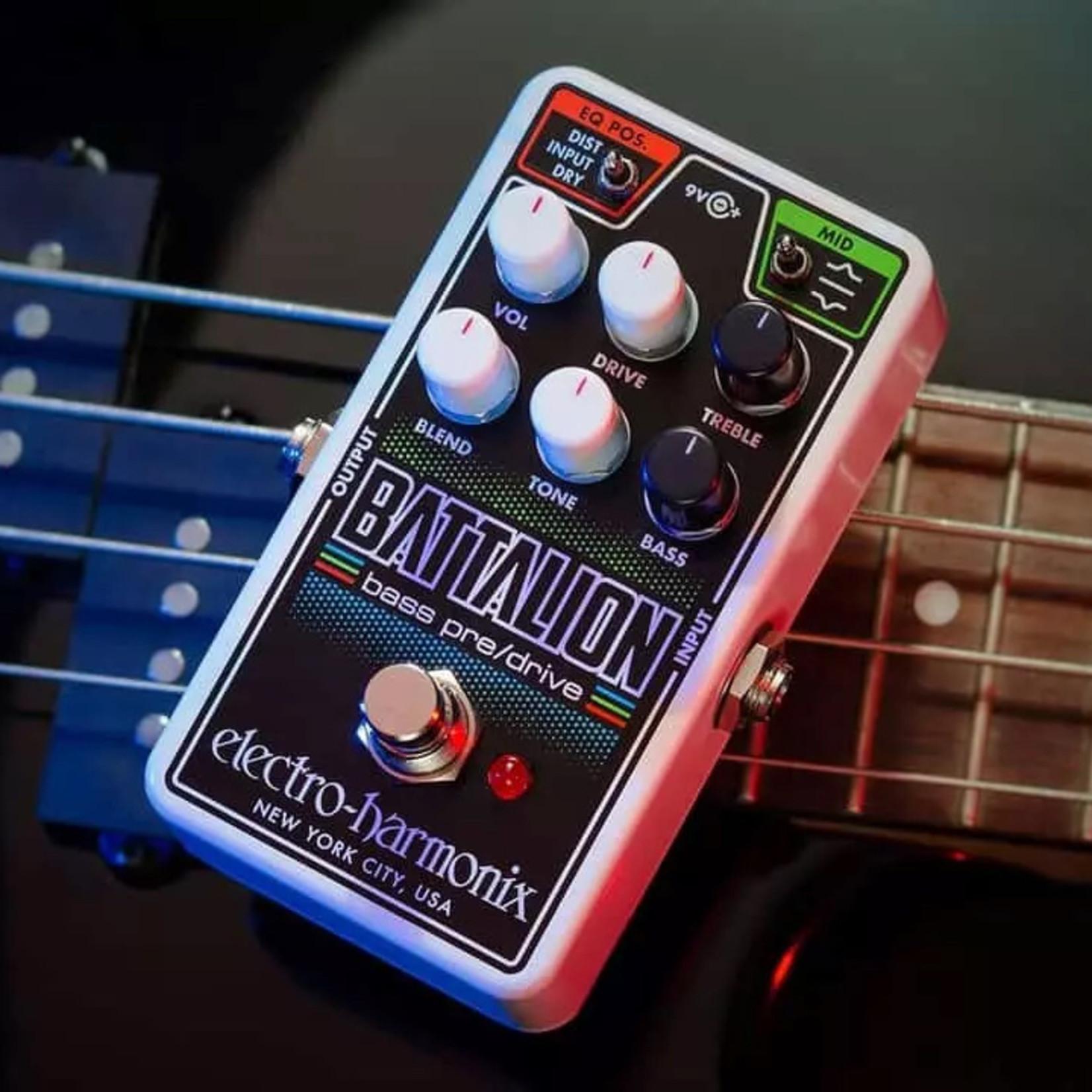 Electro-Harmonix Electro-Harmonix Nano Battalion Bass Preamp & Overdrive
