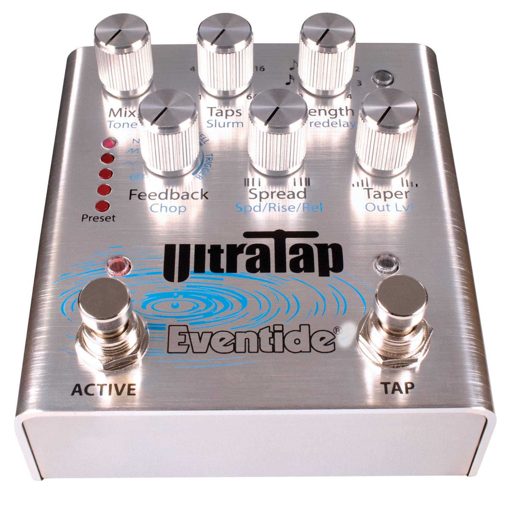 Eventide Eventide UltraTap Pedal - Rhythmic Delays, Glitchy Verbs, Volume Swells & Modulation
