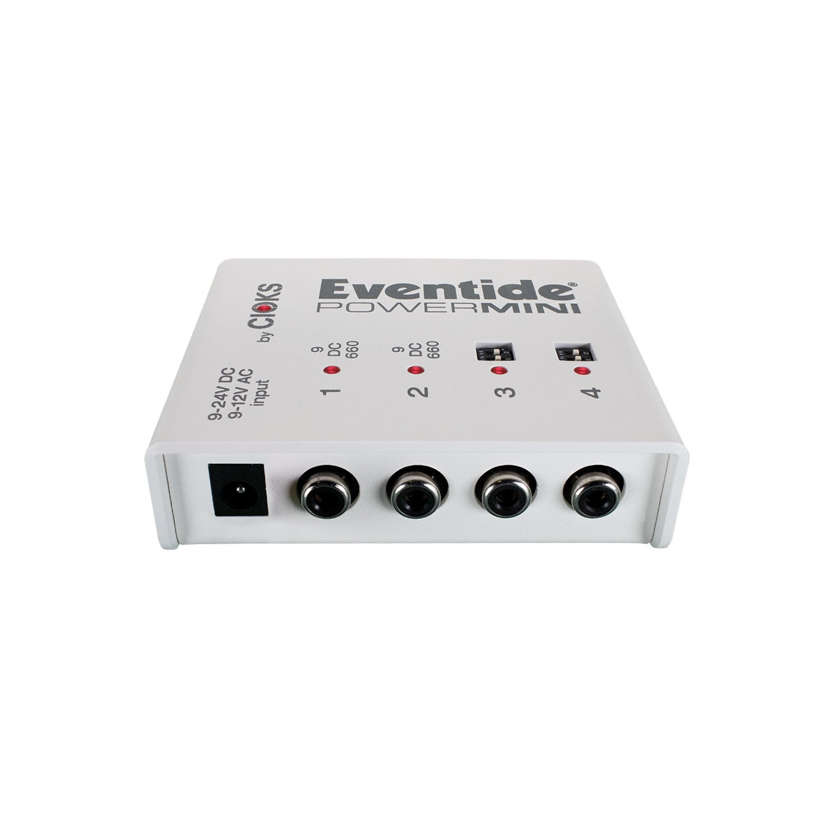 Eventide Eventide PowerMINI Standalone Power Supply for Effects Pedals (four 600 mA outputs, two with variable DC)