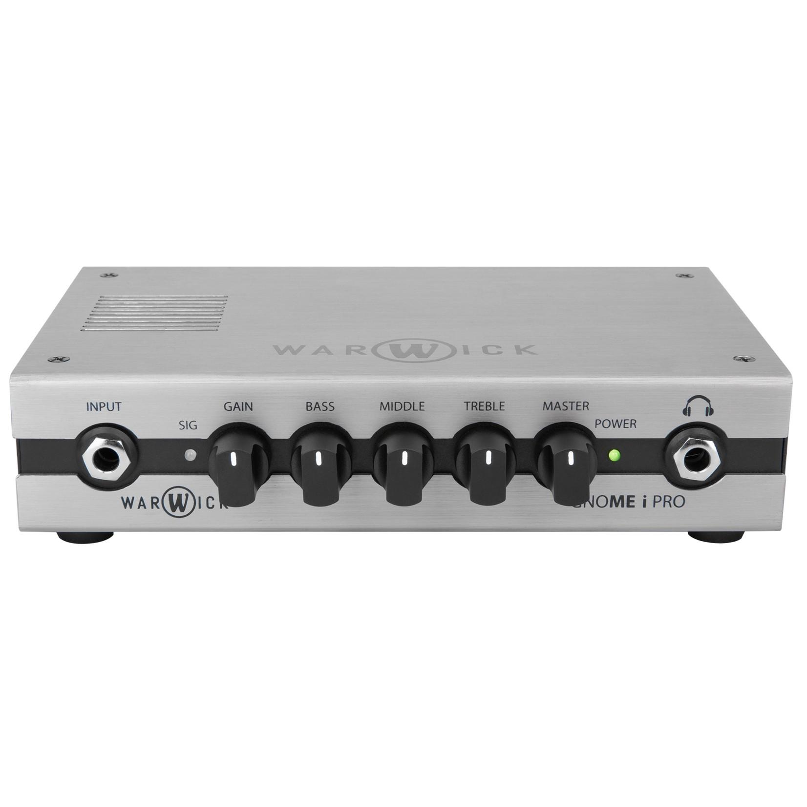 Warwick Warwick Gnome i Pro - Pocket Bass Amp Head with USB Interface, 280 Watt