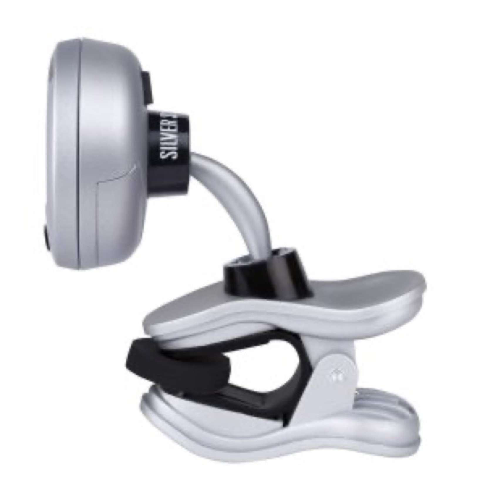 Snark Silver Snark 2 - Chromatic Clip Tuner for All Instruments - NEW Finish and 2.0 Software for 2021, In-Stock Now