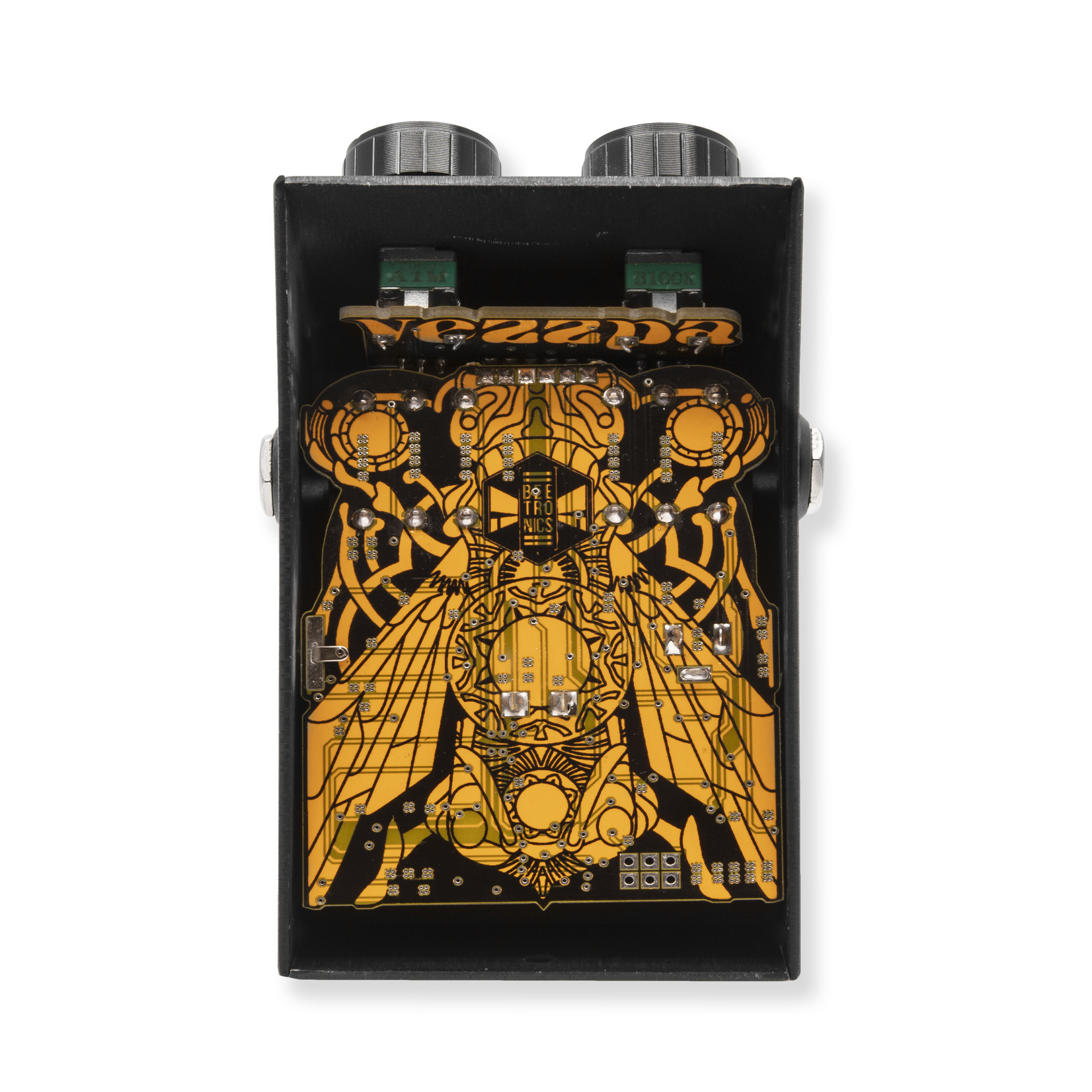 Beetronics Beetronics FX Vezzpa Fuzz (Babee series), OpAmp with Octave and Momentary Switching-In Stock, Shipping Now!