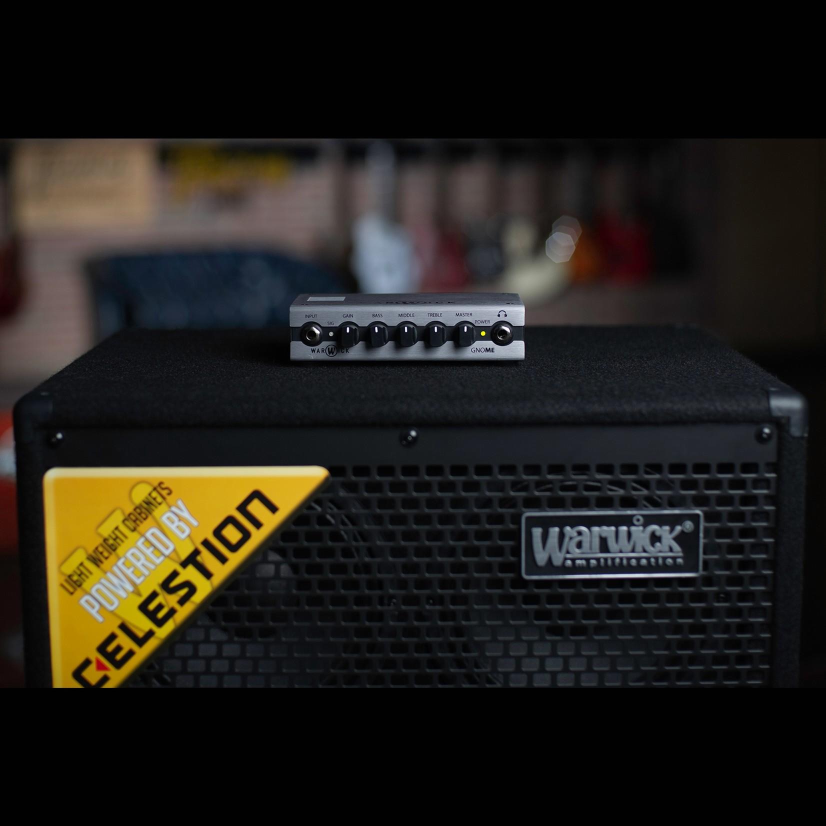 Warwick Warwick Gnome - 200 Watt Digital Pocket Bass Amp Head  (115 Volt / US)