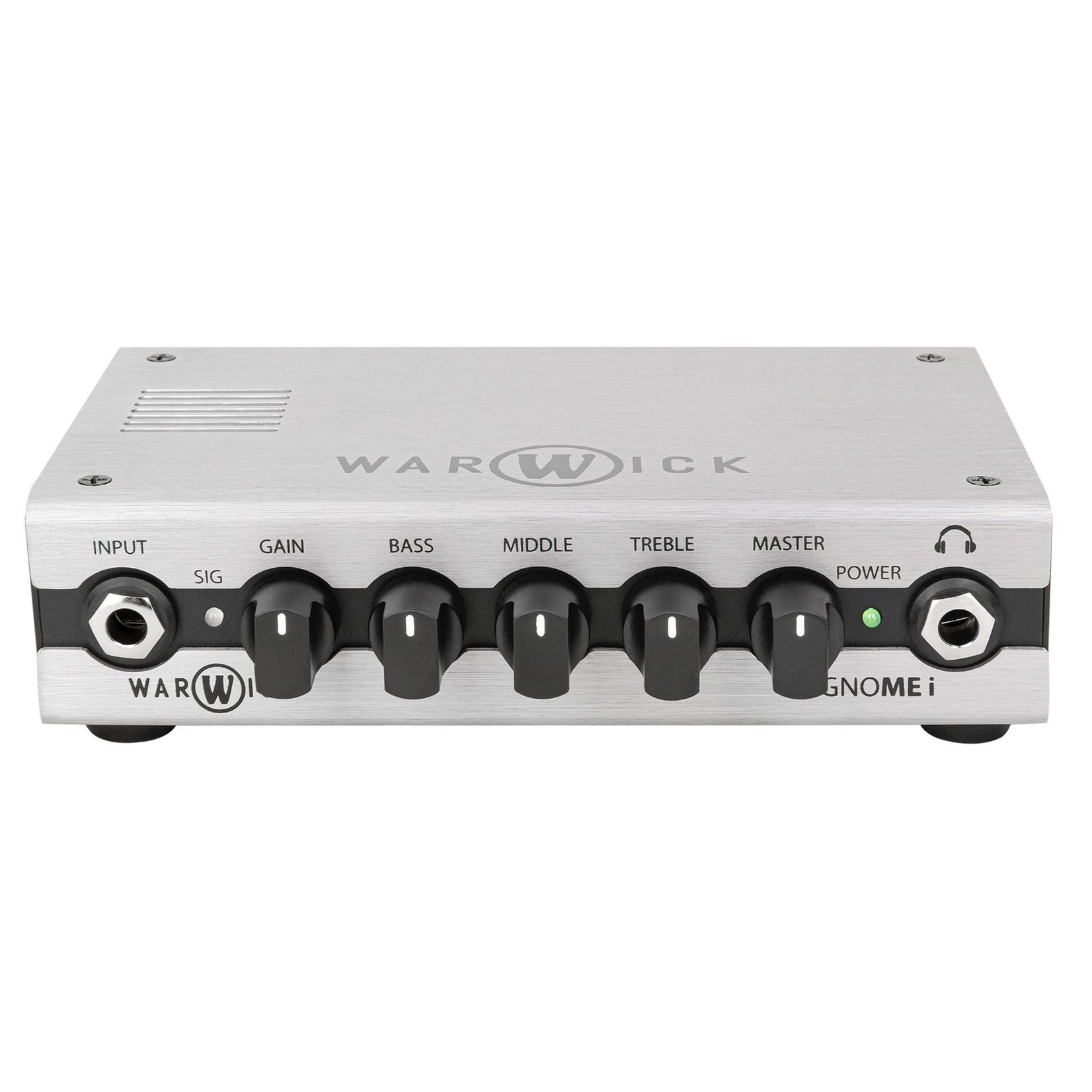 Warwick Warwick Gnome i - Pocket Bass Amp Head with USB Interface, 200 Watt