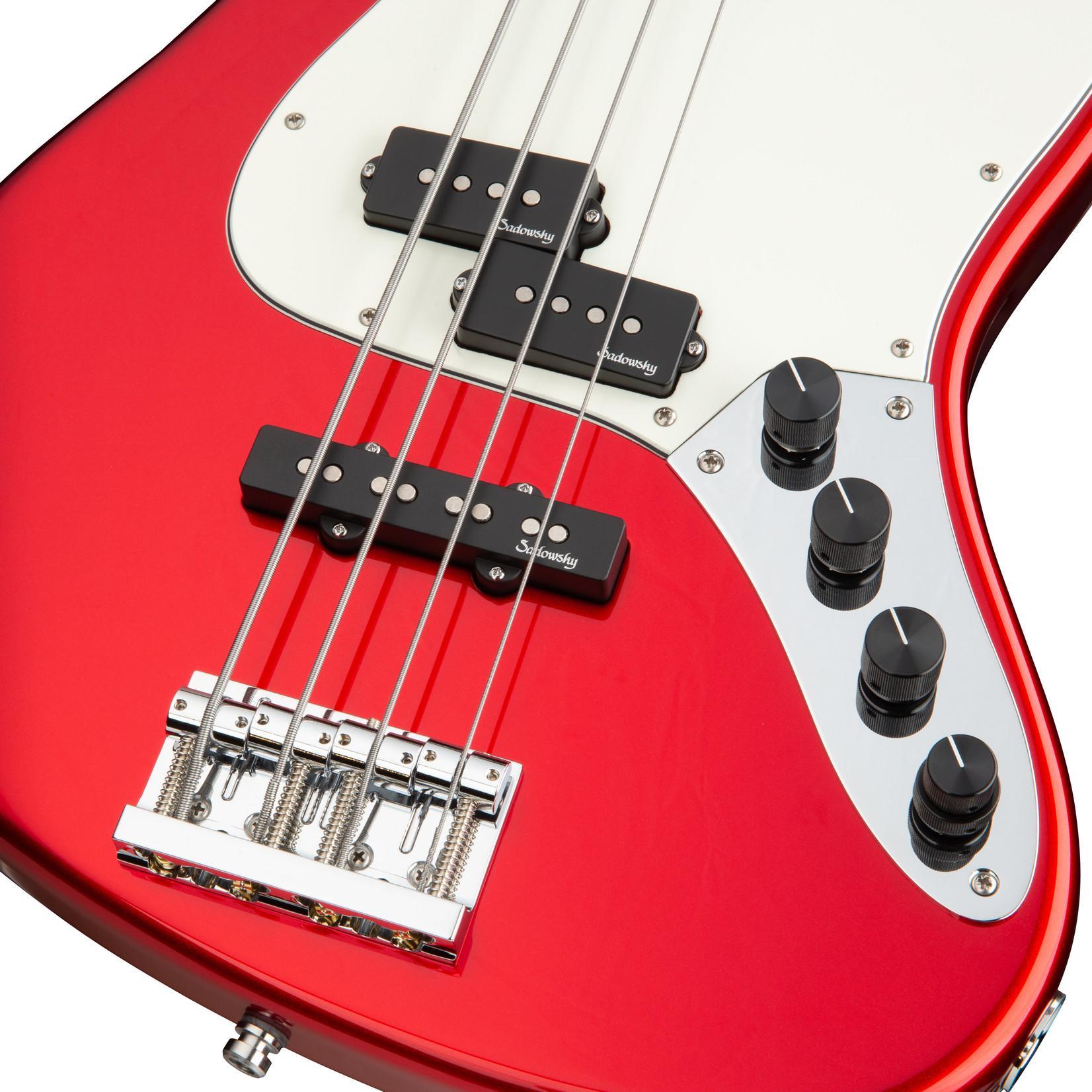 Sadowsky Sadowsky MetroLine 21-Fret Vintage PJ 4-String Bass, Candy Apple Red Metallic