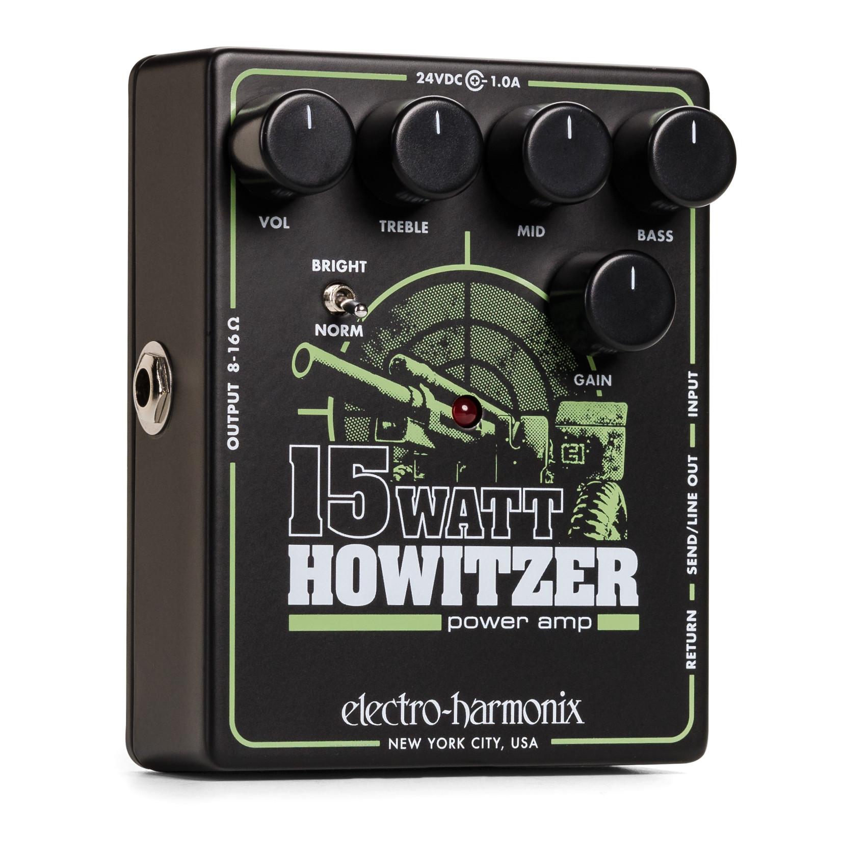 Electro-Harmonix Electro-Harmonix 15 Watt Howitzer Guitar Preamp and Power Amp