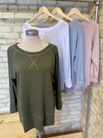 Maple Sage Tunic Sweatshirt