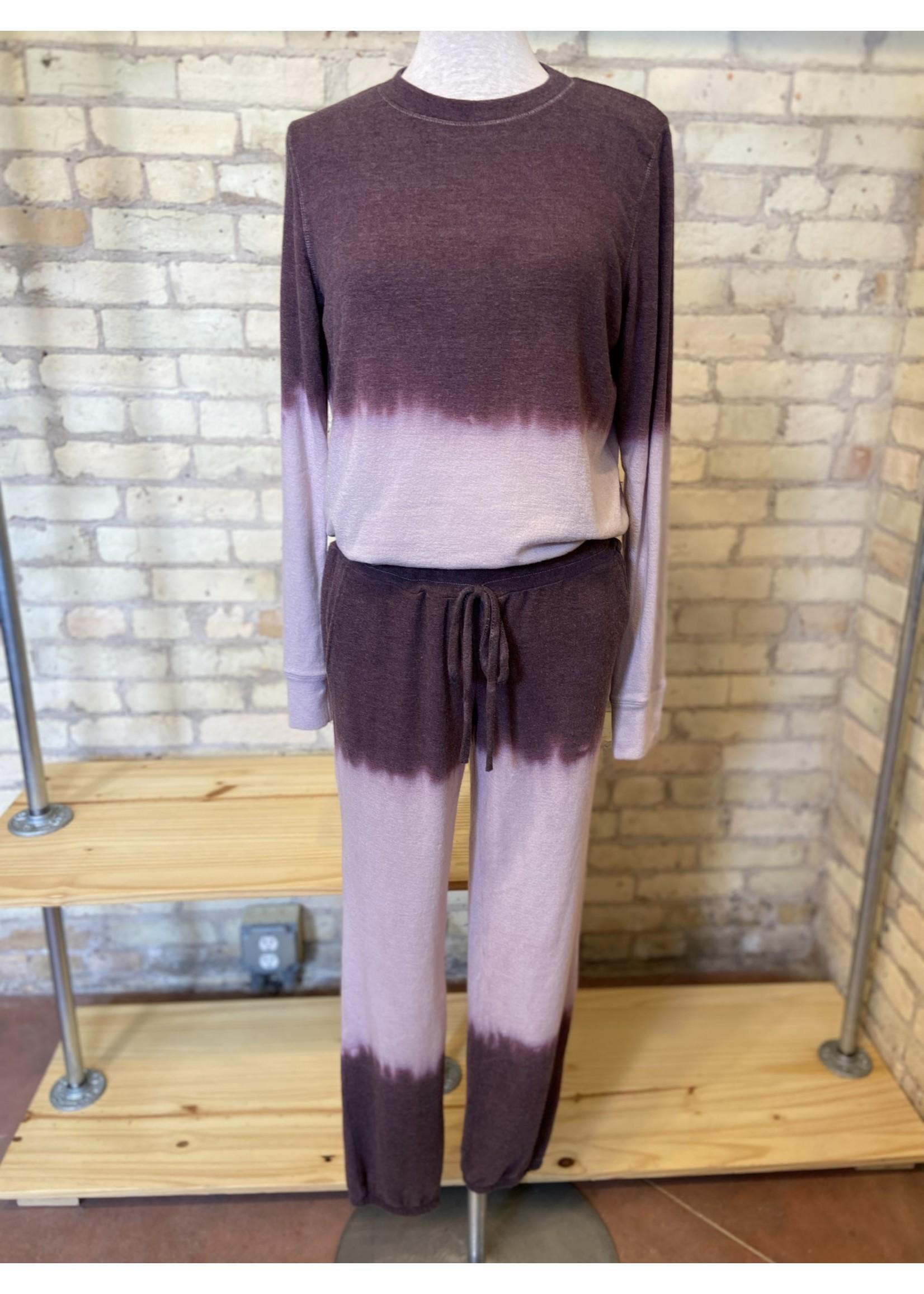 Maple Sage Mauve Tie Dye Sweatpants