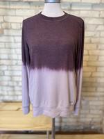 Maple Sage Mauve Tie Dye Sweatshirt