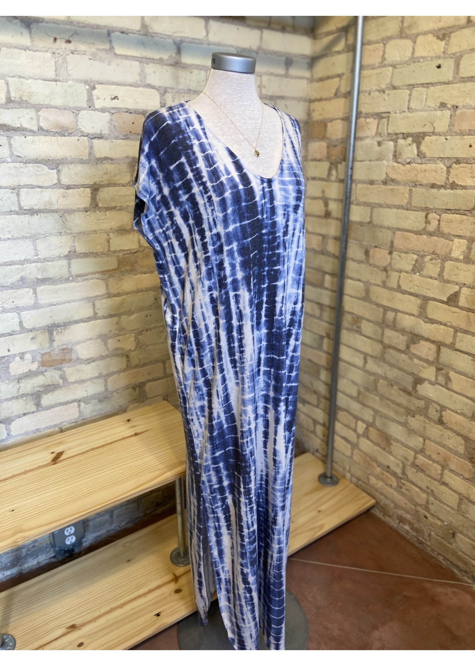 Bluivy Bamboo Tie Dye Maxi Dress