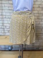 Everly Floral Print Wrap Skirt