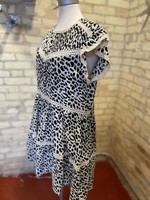 By Together Leopard Print Woven Lace Dress