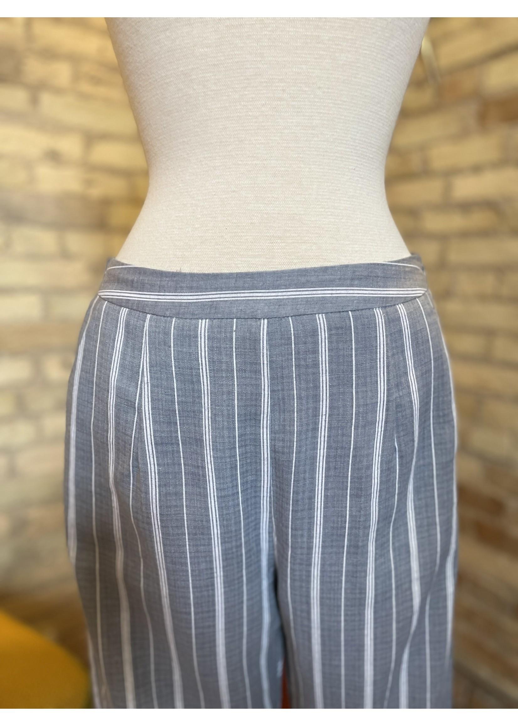 Paper Crane Striped Pants