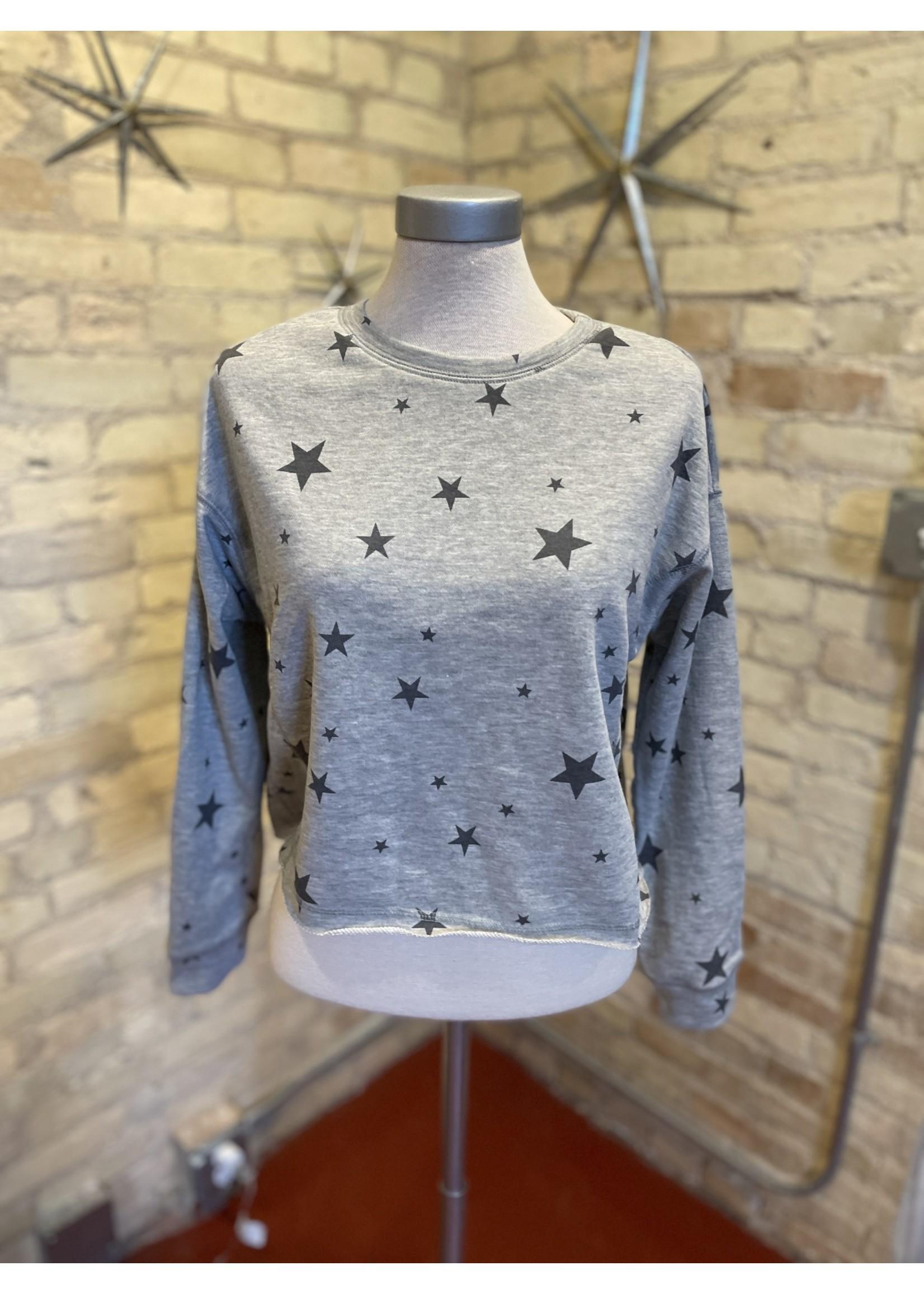 Paper Crane Star Print Sweatshirt