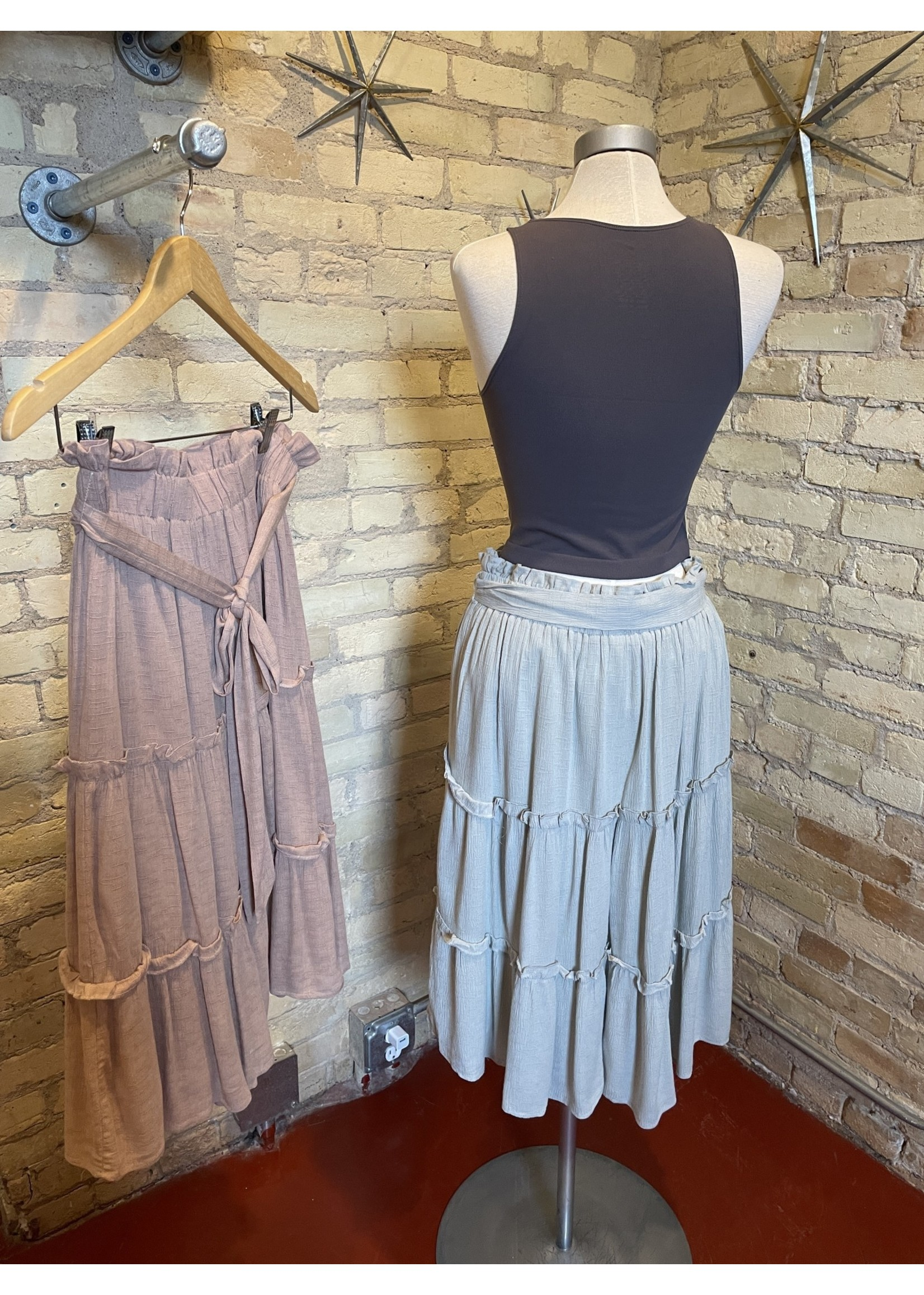 Doe & Rae Ruffle Skirt