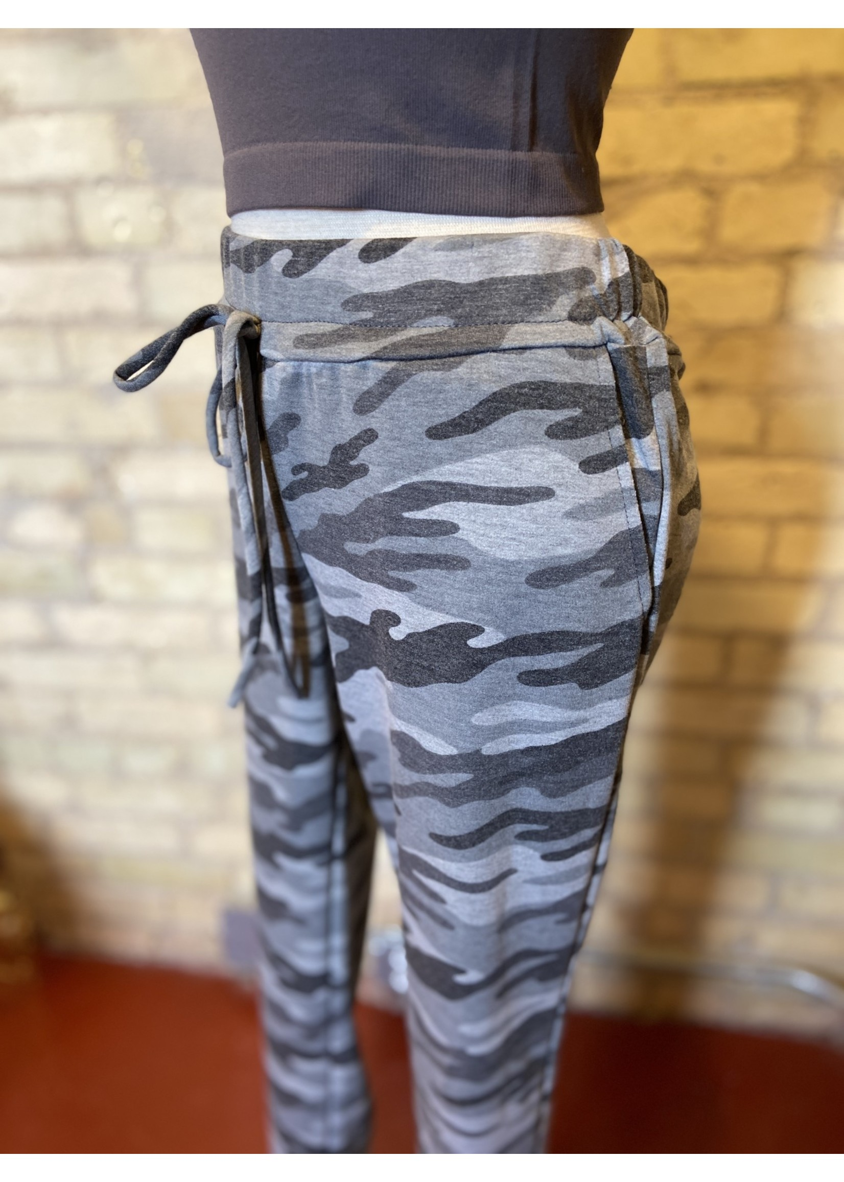 Maple Sage Camo French Terry Joggers