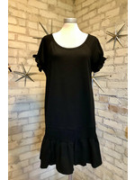 Charlotte Avery Short Sleeve Mini Dress