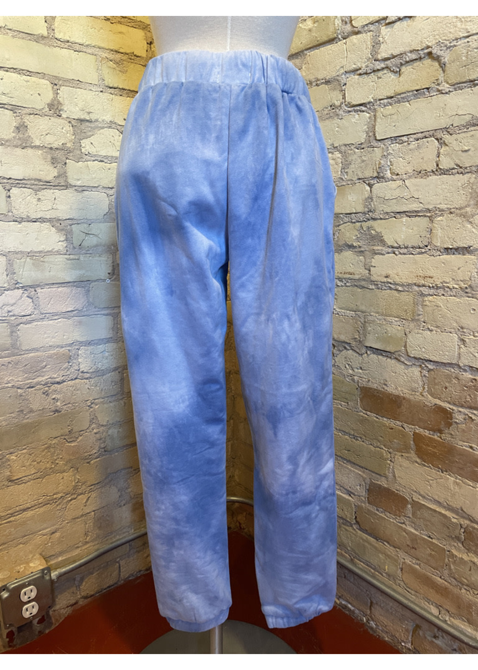 Paper Crane Tie Dye French Terry Joggers
