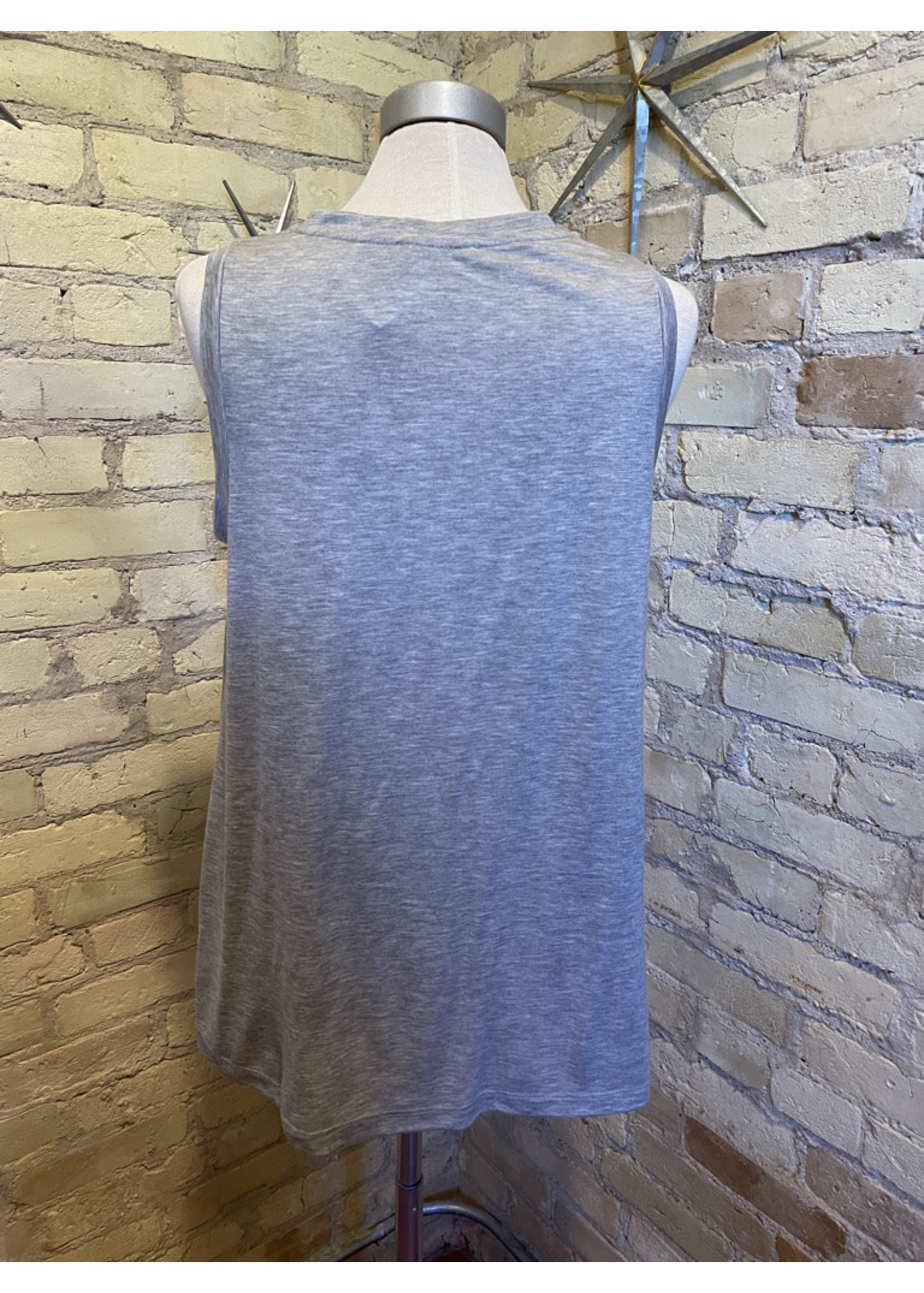 Lush Knotted Tank Top