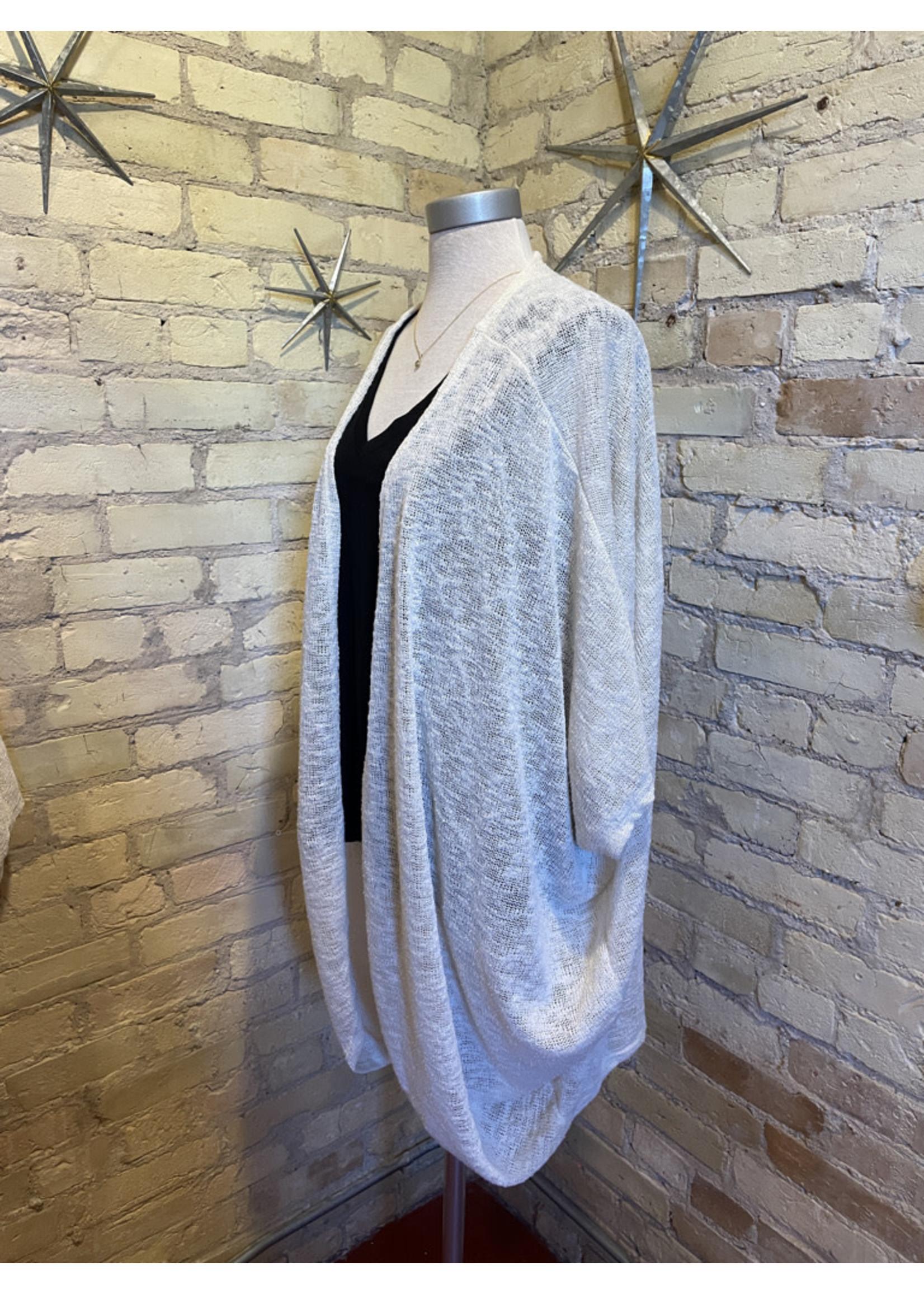 Bluivy Dolman Sleeve Open Cardigan