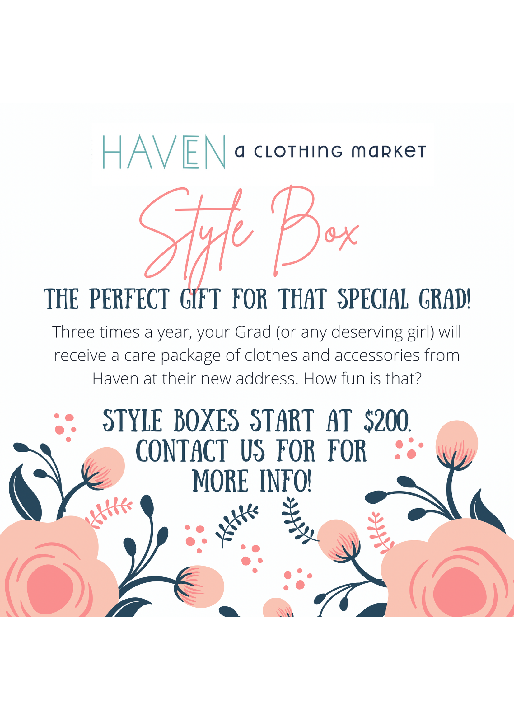 Haven Style Box $300