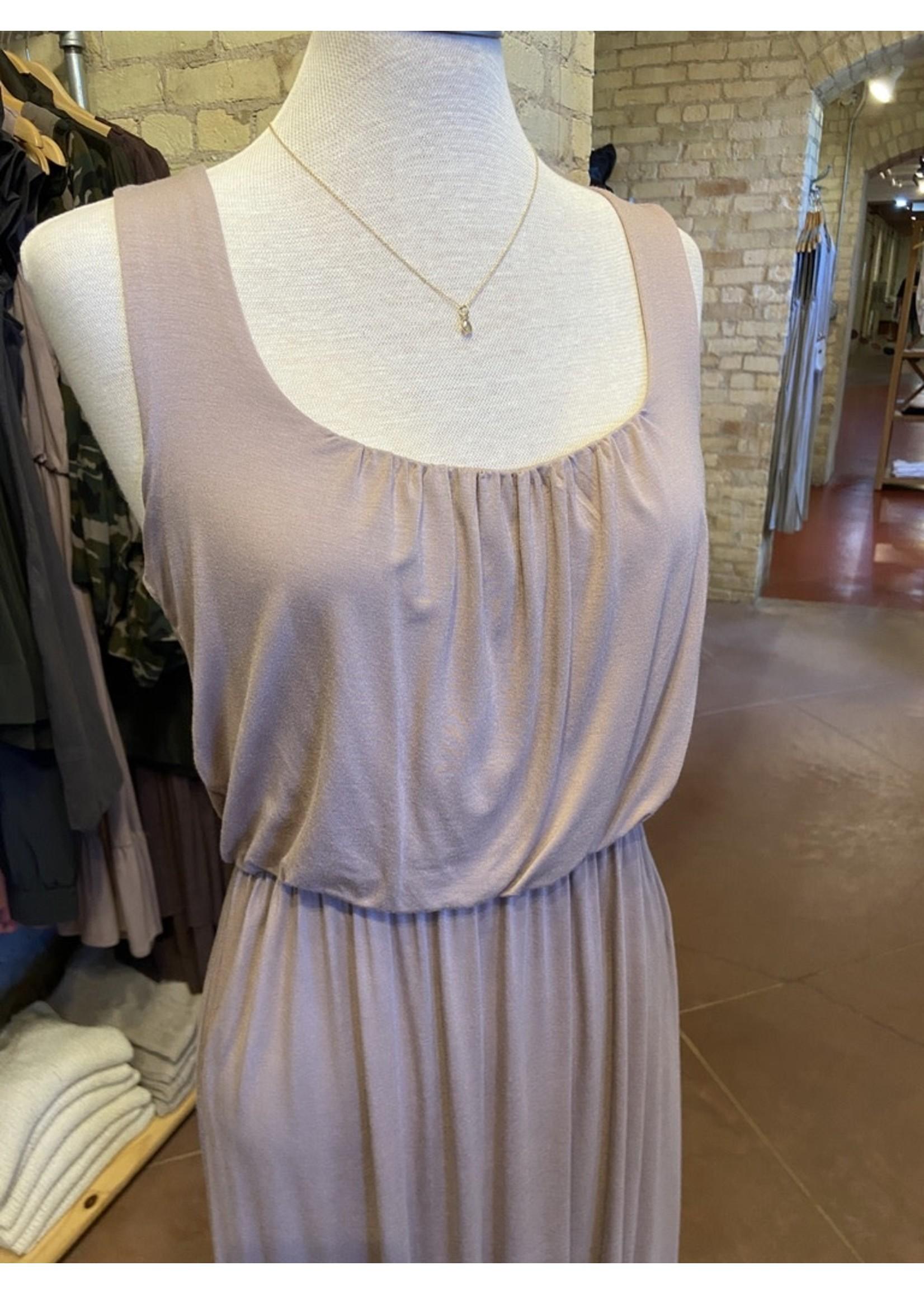 Gilli Midi Tank Dress with Ruffle