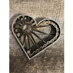 Paradoxdesignwerx | Heart with Sun and Bike chain
