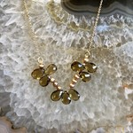 So Me So Me Designs Sweet Like Honey Necklace - 14K Yellow Gold, Honey Citrine and Pearl