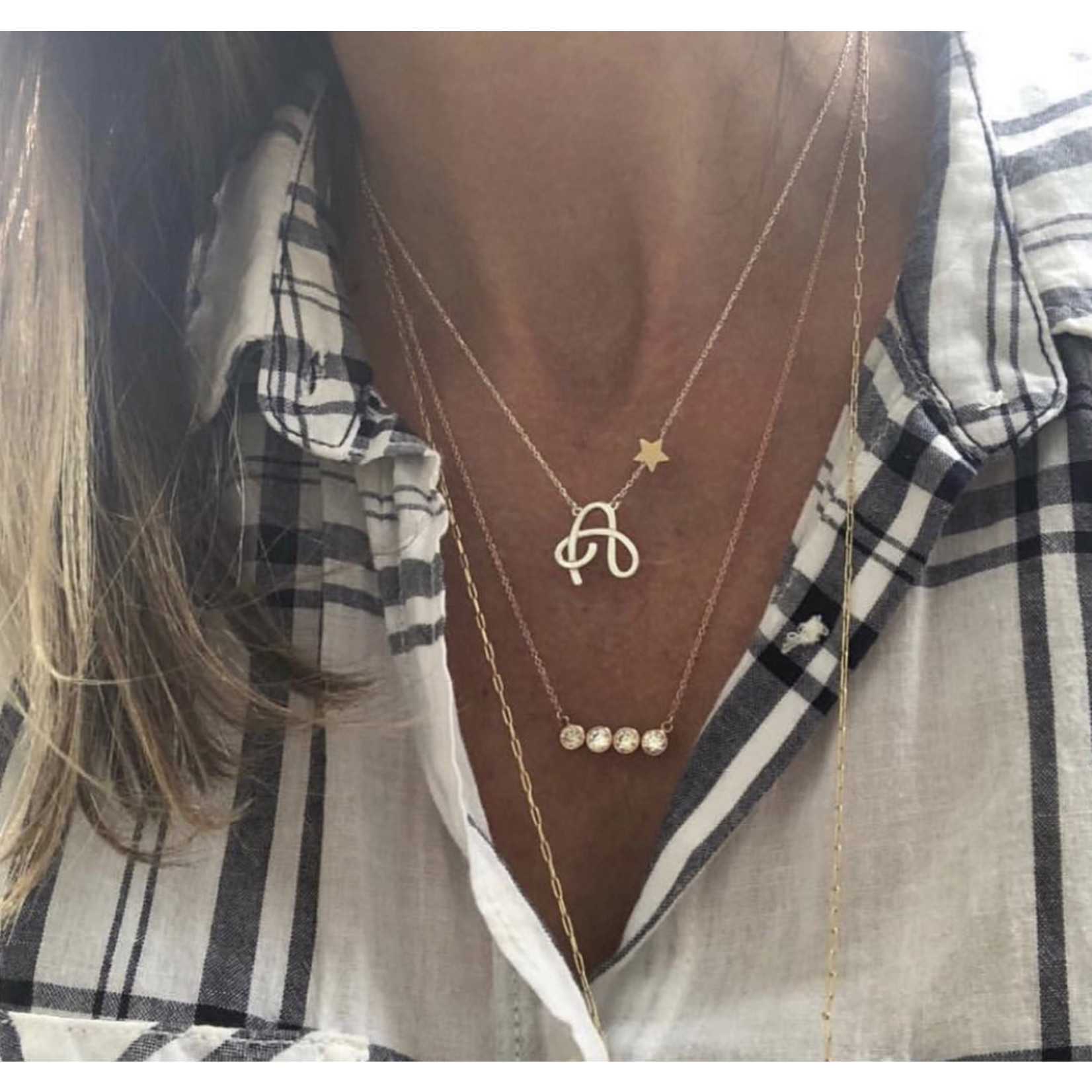 So Me So Me Designs | Initial Necklace