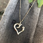 So Me So Me Designs 14k yellow gold Strength Charm