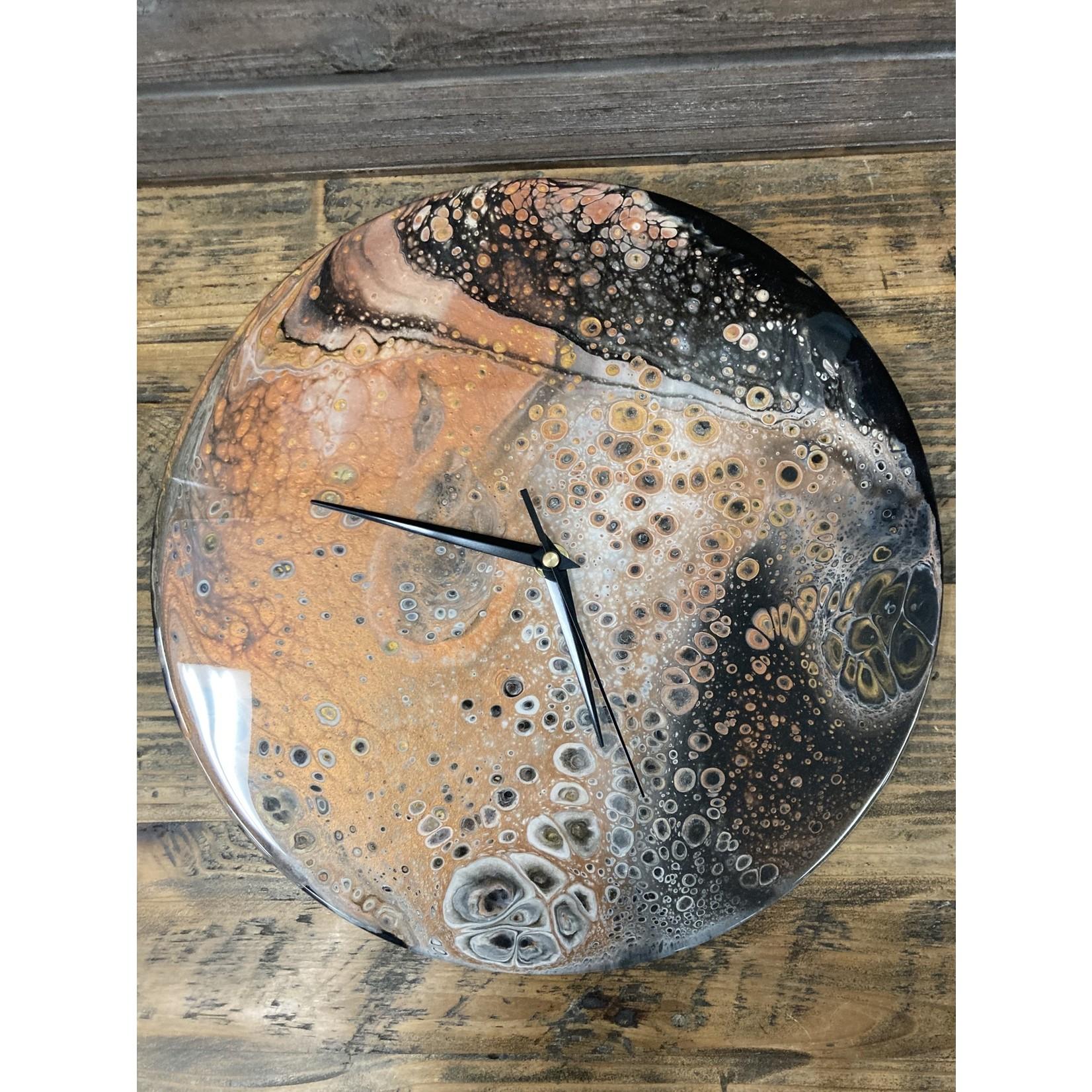 Hannah Wilson Hannah Eli Art Vinyl Clock - Mixed Metals