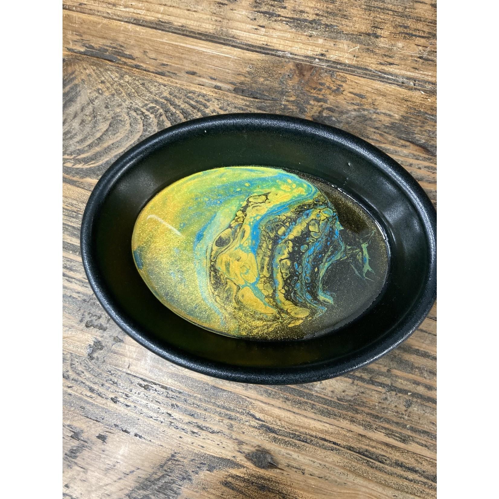 Hannah Wilson Hannah Eli Art Trinket Dish - Atomic Pineapple