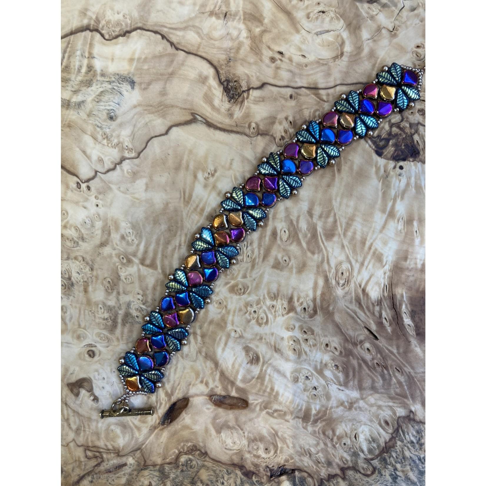 Jeanne Shuff JeanneMarie | Ginko beads /multi color bracelet
