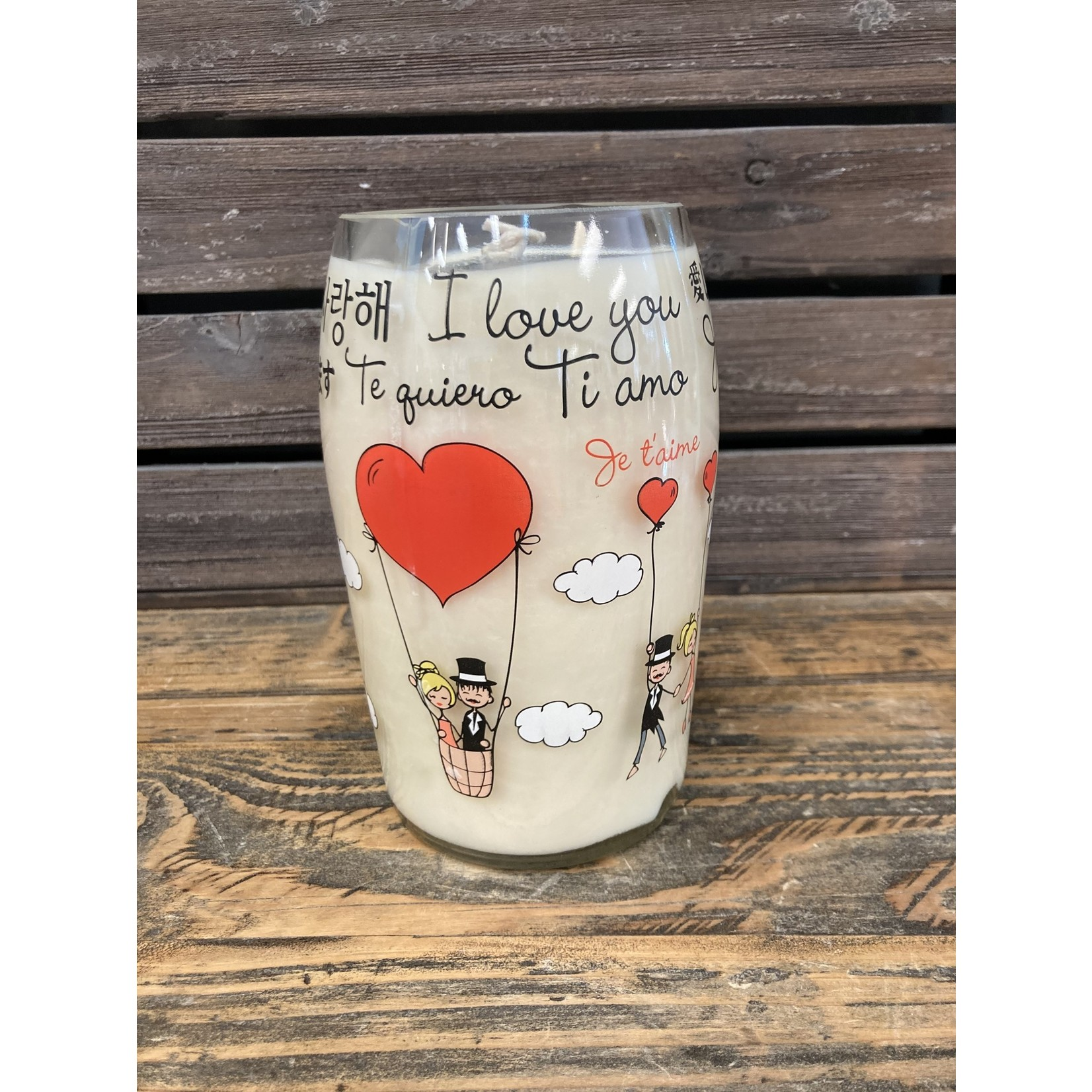Susan Cowher Candles Uncorked   I love you ❤️ Cabernet