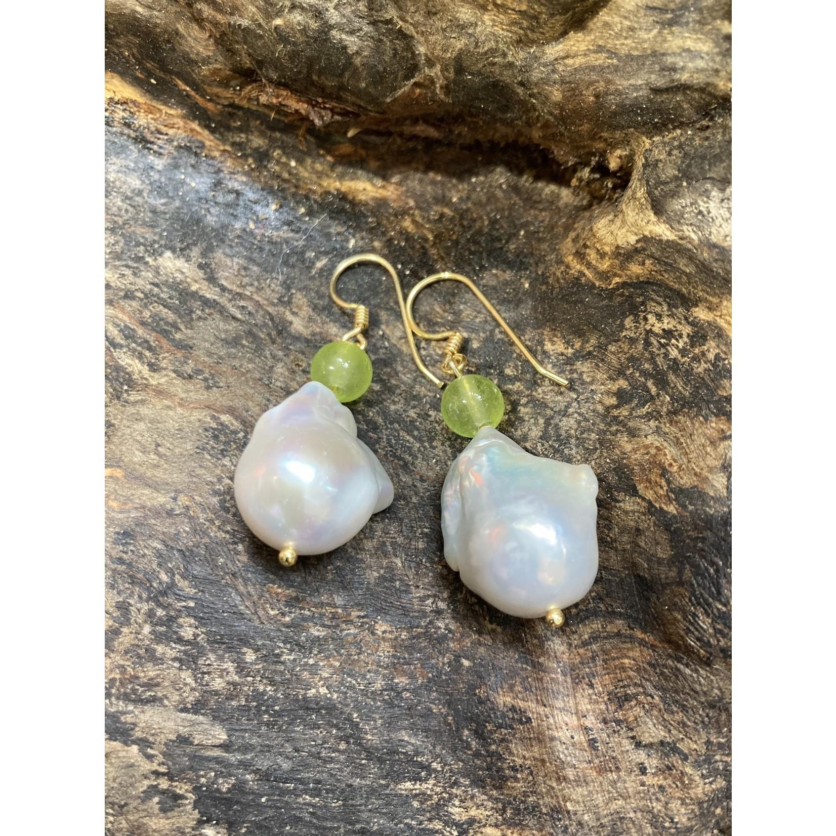 Charlene Campbell Charlene Campbell Baroque pearl earrings