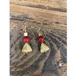 Charlene Campbell Charlene Campbell | Red coral earrings