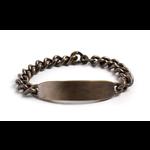 Studebaker Metals Studebaker Metals ID Bracelet - Large Brass