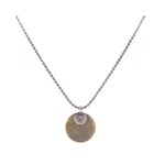 Studebaker Metals Studebaker Metals Tag Chain Necklace - Sterling/Brass