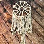"Soul of the Party Soul of the Party Macrame Dreamcatcher - 30"" long, 13"" wide"