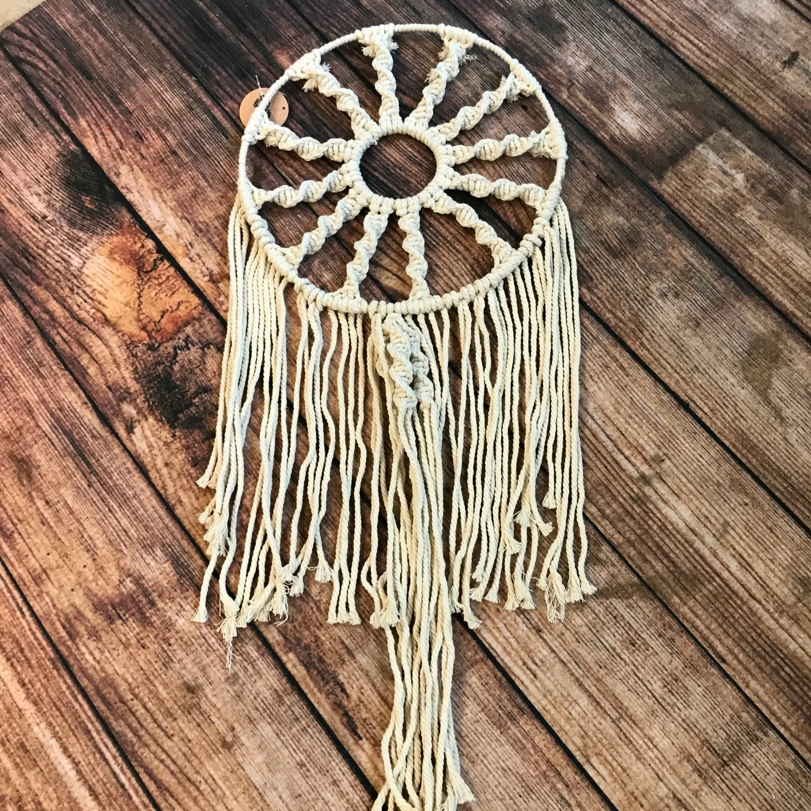 """Soul of the Party Soul of the Party Macrame Dreamcatcher - 30"""" long, 13"""" wide"""