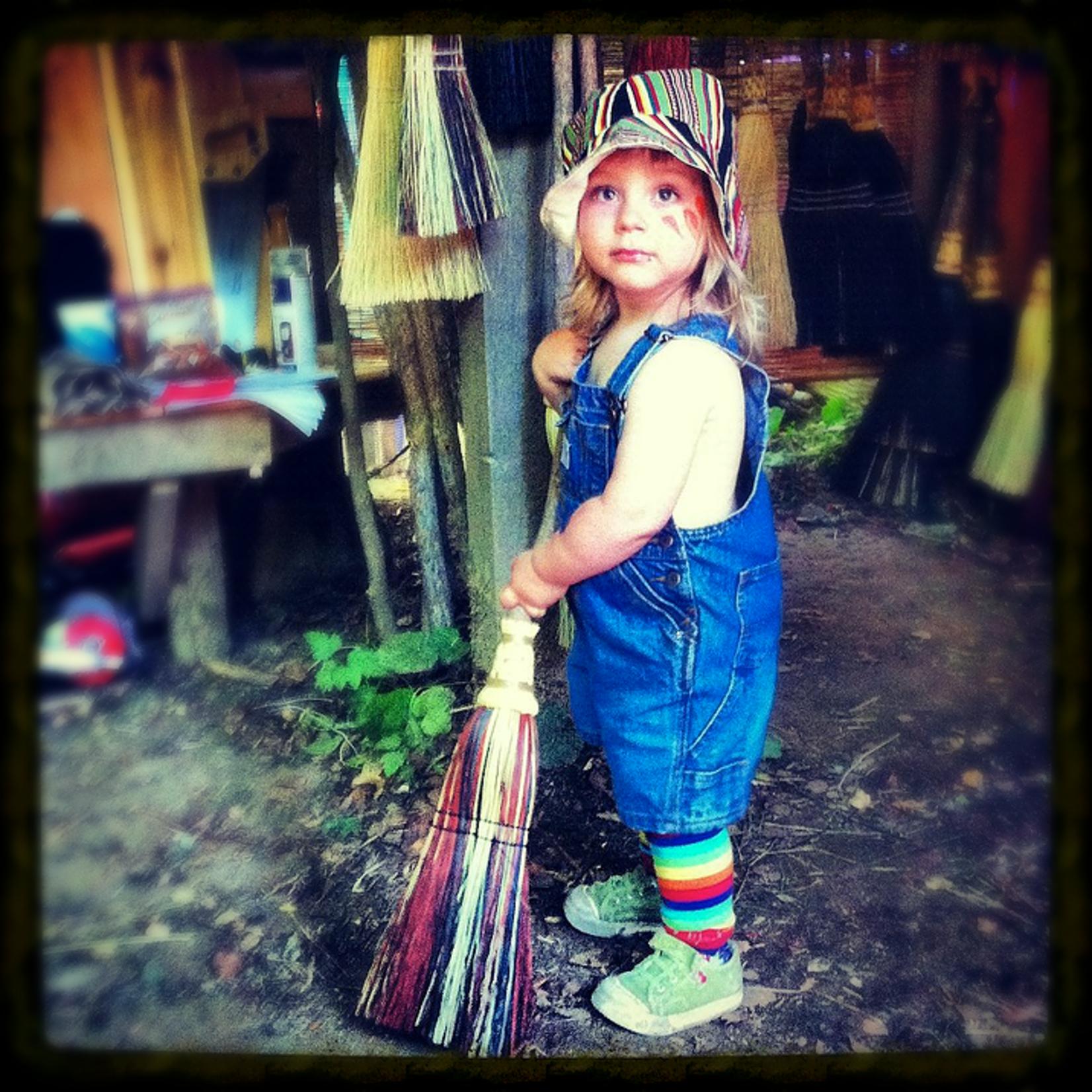 Scheumack Broom Co Scheumack Broom Co. Kitchen Broom Mixed Kid's
